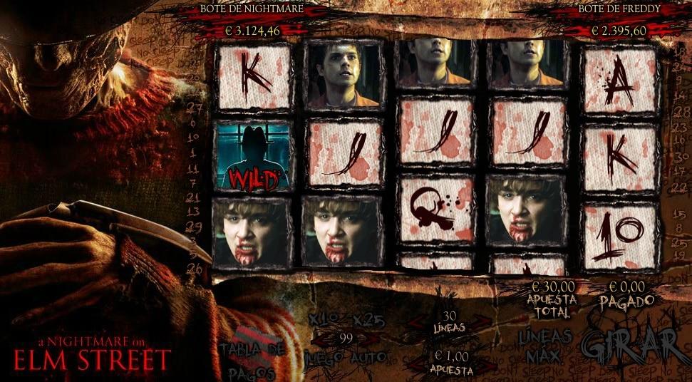 A Nightmare on Elm Street jugando