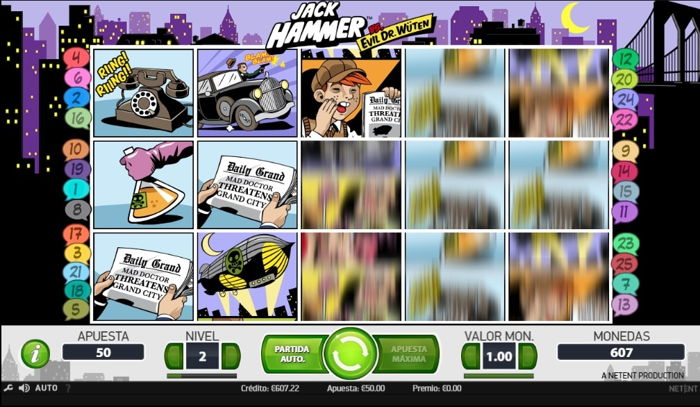 Jack Hammer jugando