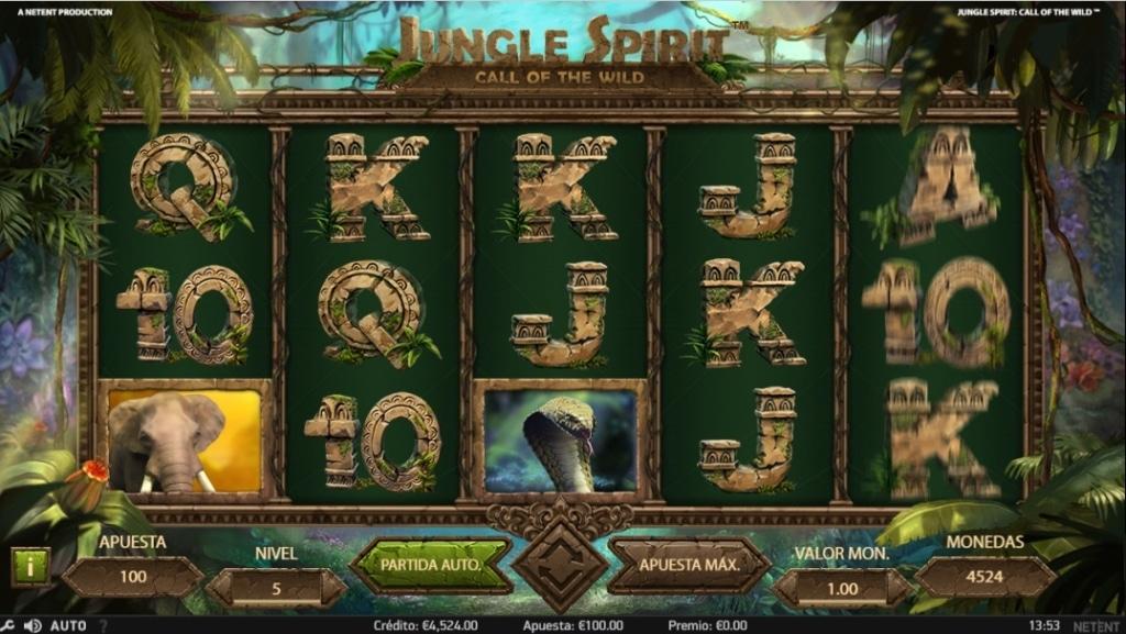 Jungle Spirit Call of the Wild jugando