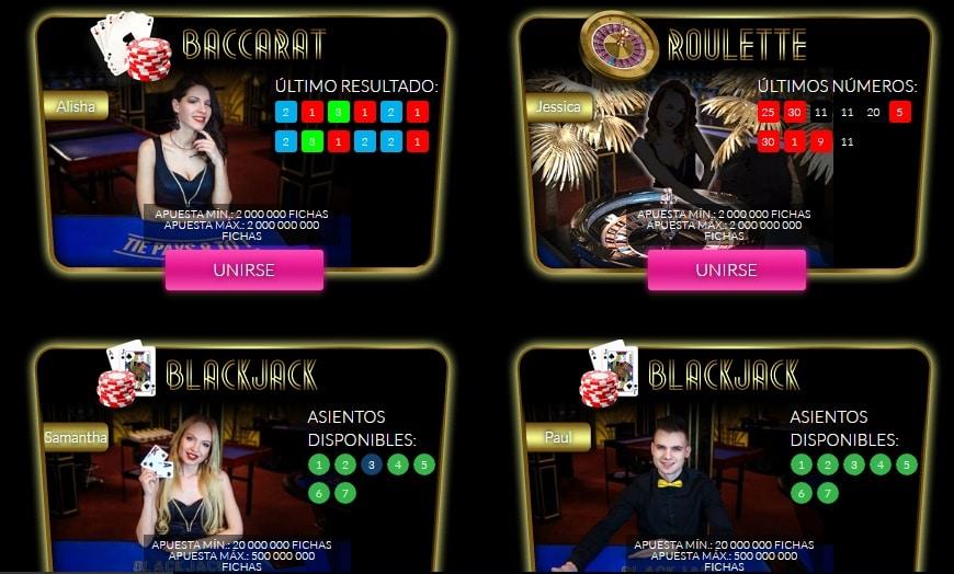 MyJackpot casino live