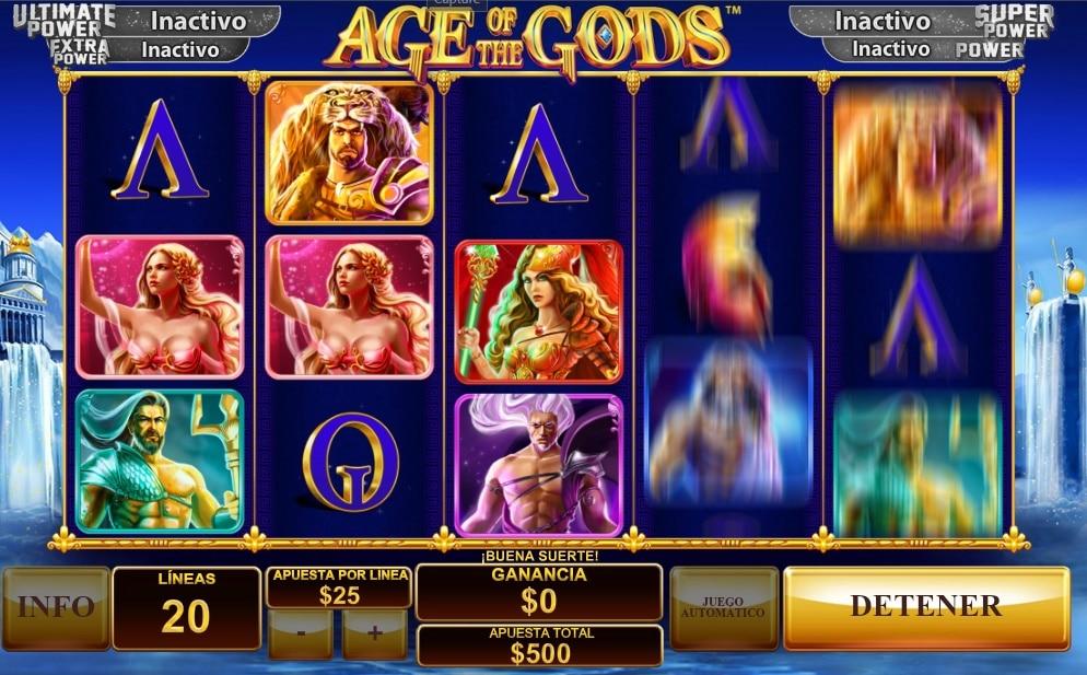 Age of the Gods jugando