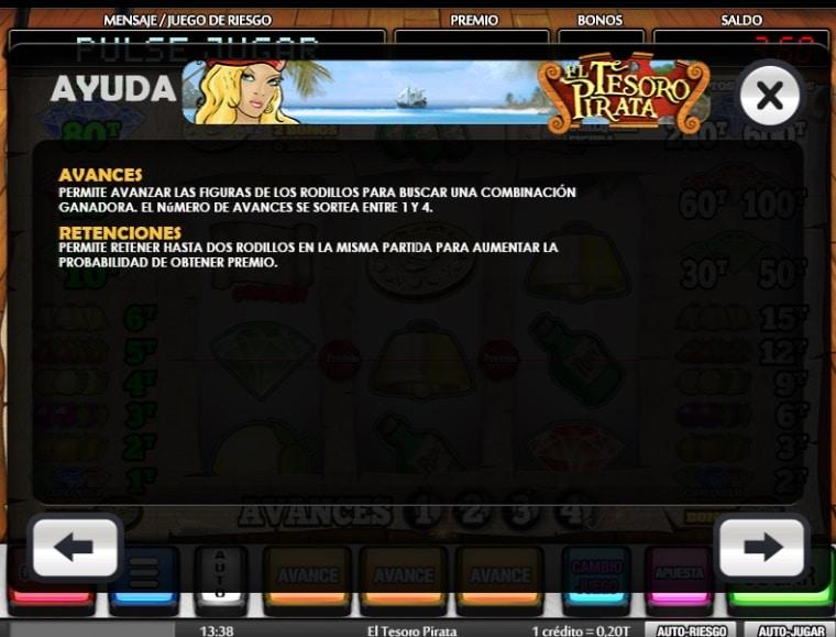 El tesoro pirata premios 2