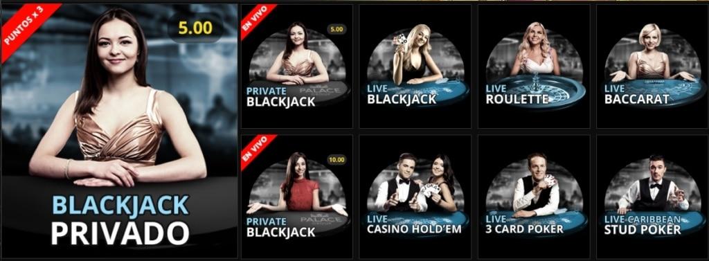 JackpotCity Casino en vivo