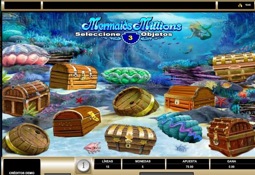 Mermaids Millions bono