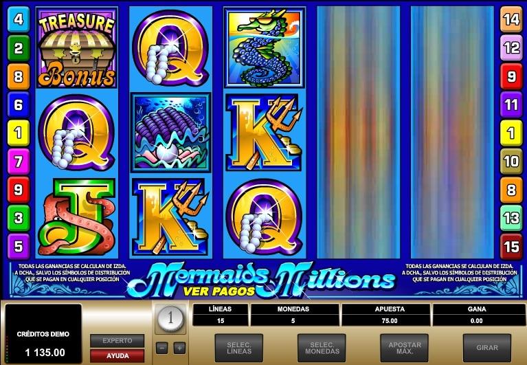 Mermaids Millions jugando