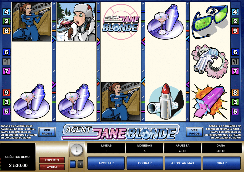 Agent Jane Blonde premio 500€