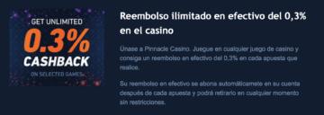 Pinnacle Casino bono