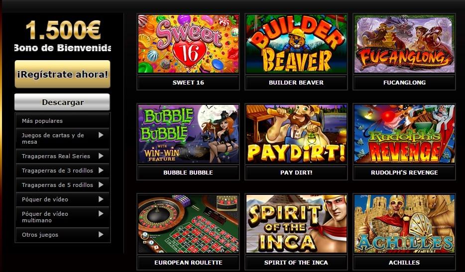 Casino Midas Juegos