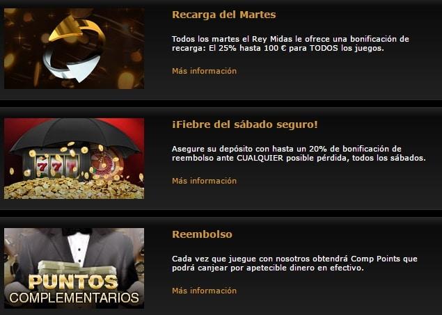Casino Midas Promo