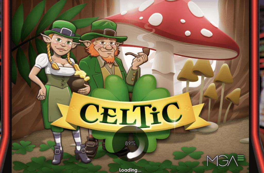 Celtic tragaperras