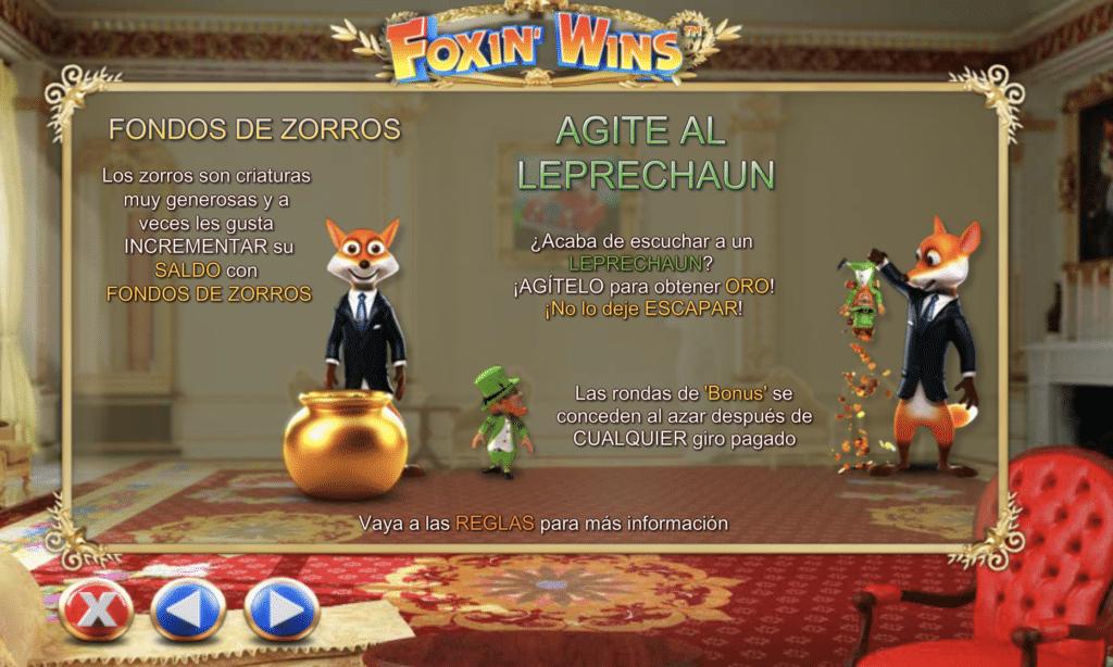 Foxin Wins slots