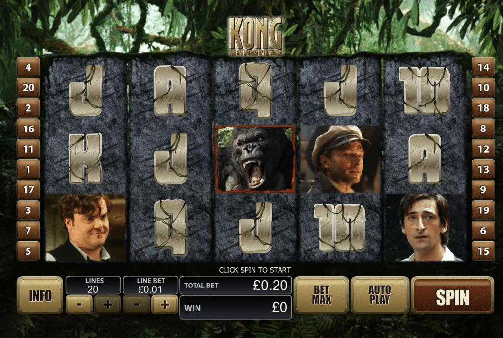 Kong tragaperras