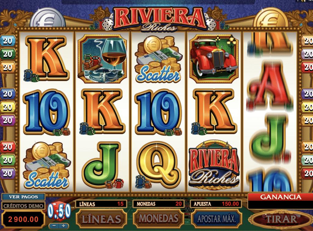 Riviera Riches jugando
