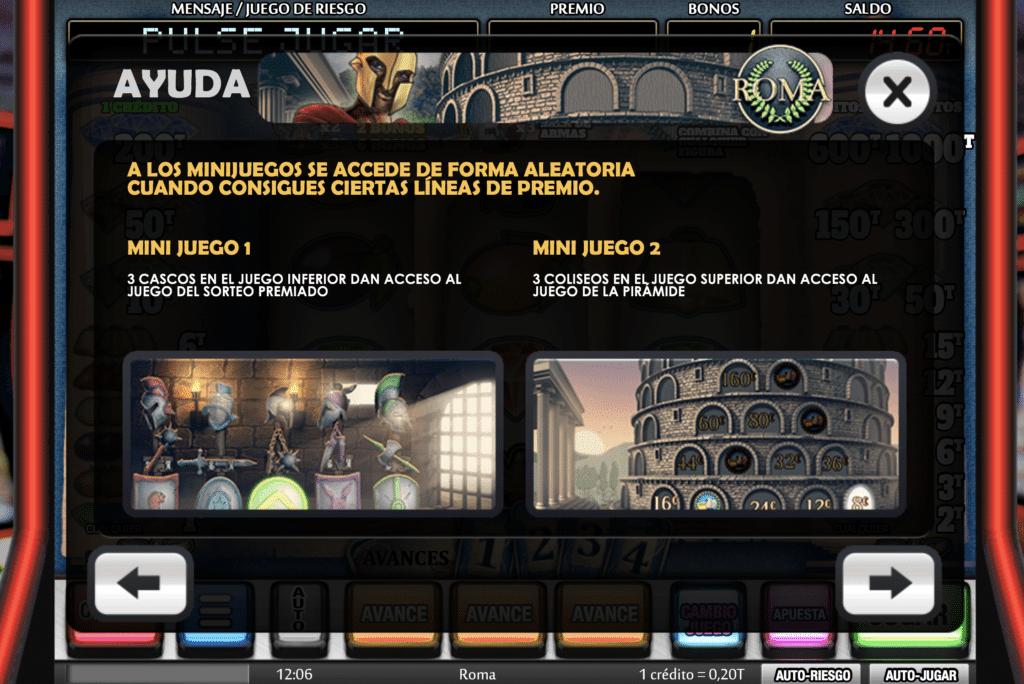 Roma Minijuegos