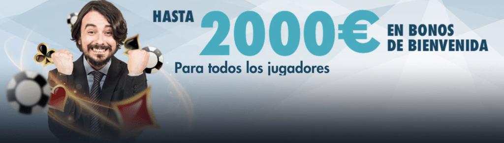 StarCasino bono 2.000€