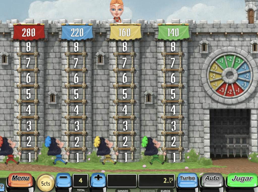 Castle bingo tragaperras bonus