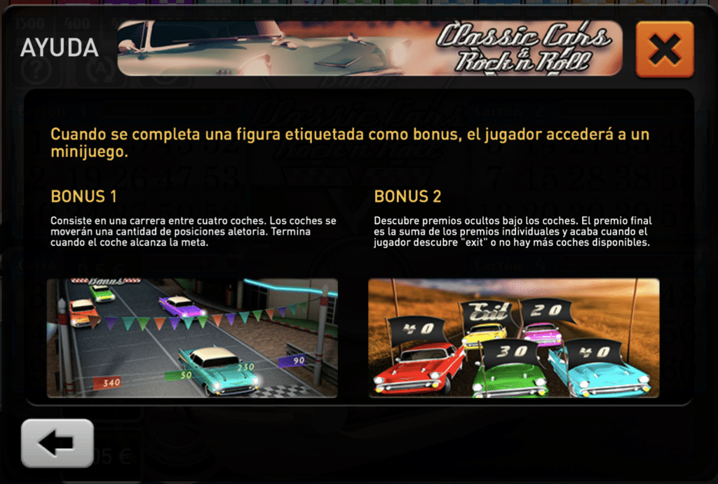Classic Cars mini juegos