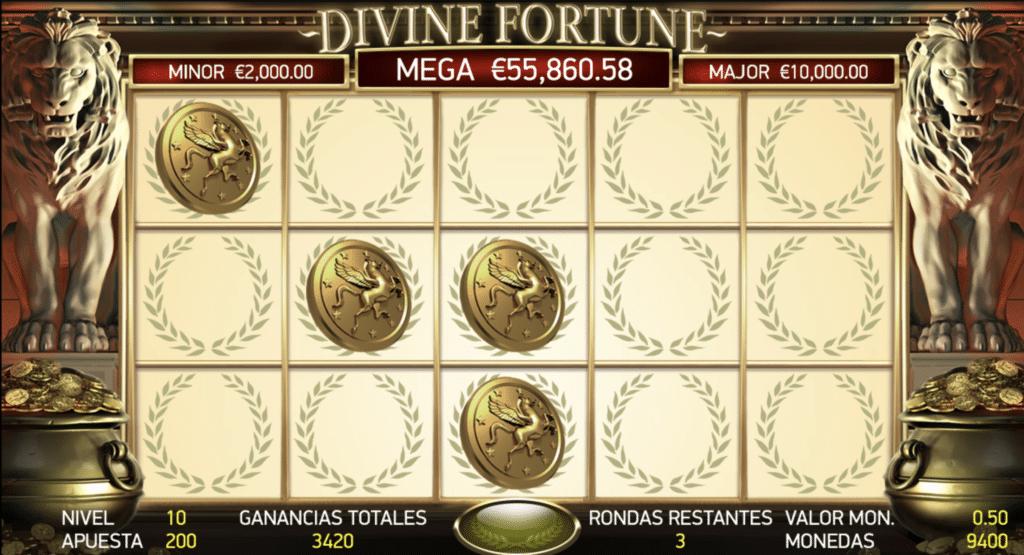 Divine Fortune juego