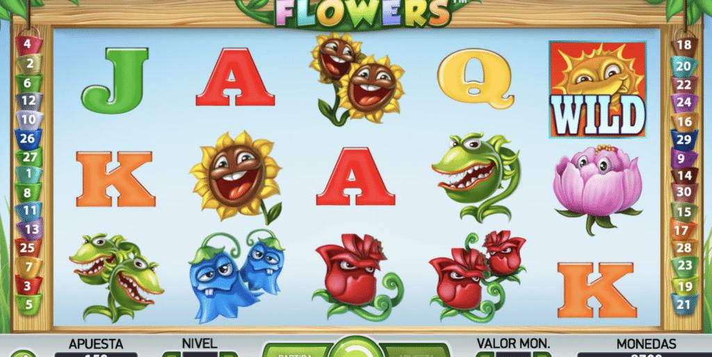 Flowers jugando
