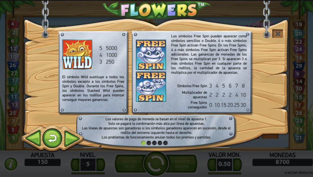 Flowers premios