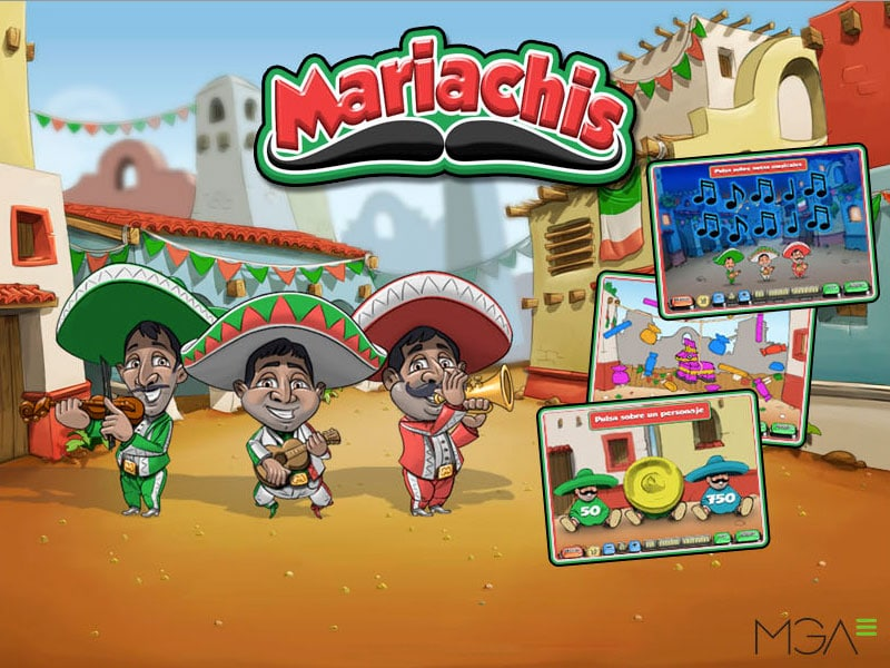 Mariachis Video Bingo