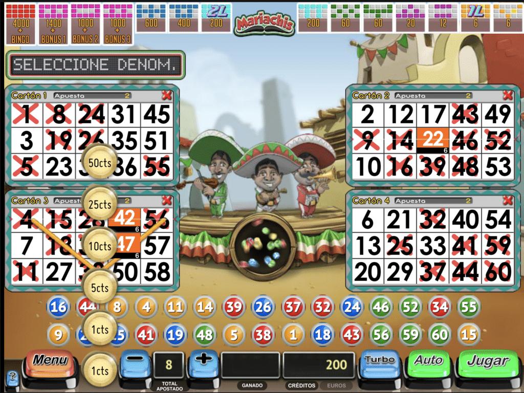 Mariachis juego