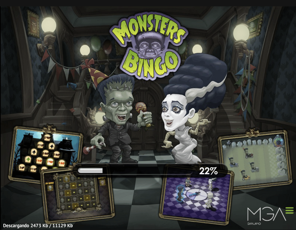 Monster Bingo tragaperras