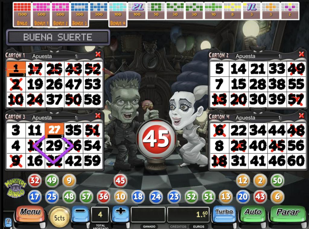 Monsters jugando