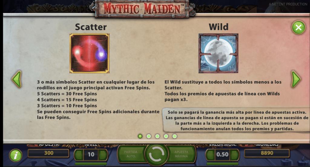 Mythic Maiden Scatter