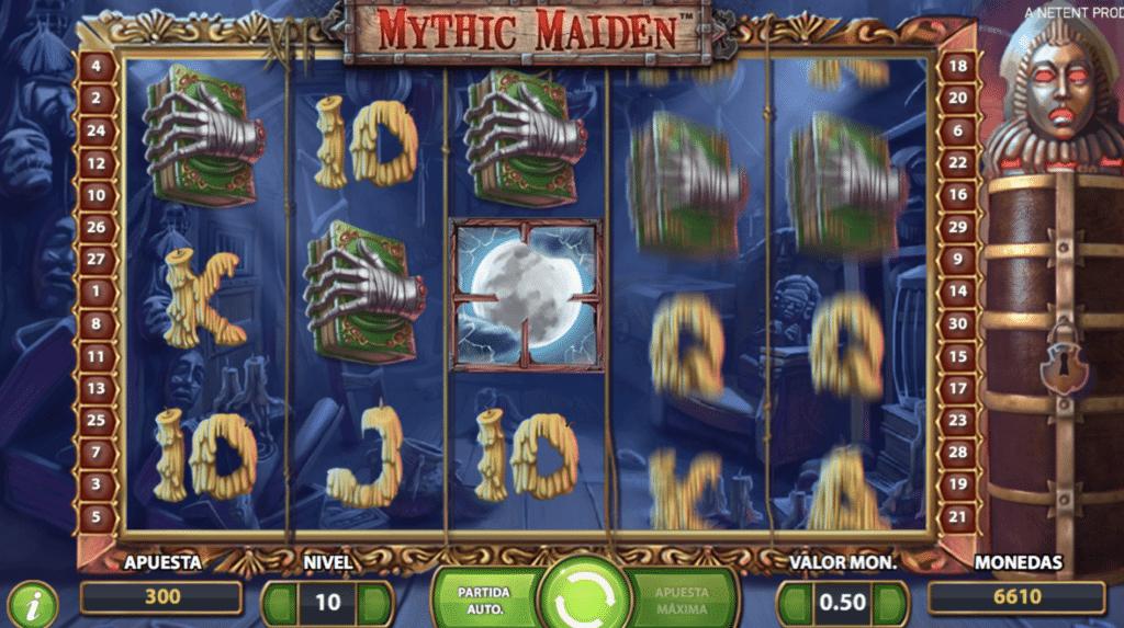 Mythic Maiden jugando