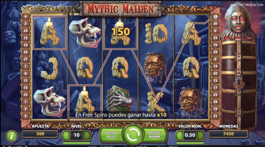 Mythic Maiden premio
