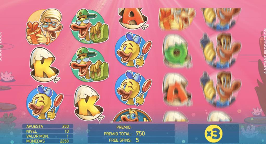Scruffy Duck giros
