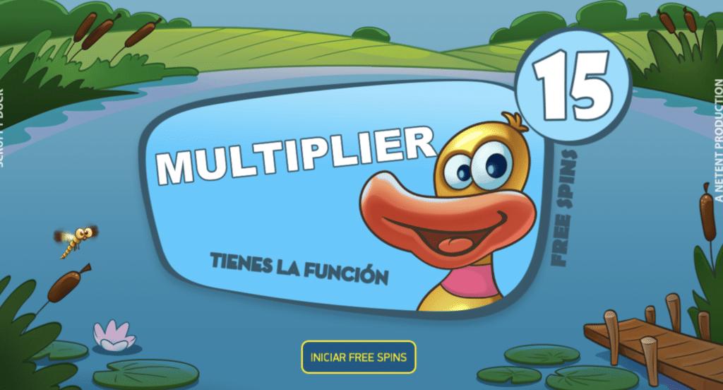 Scruffy Duck giros gratis