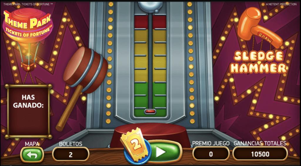 Theme Park juego 2