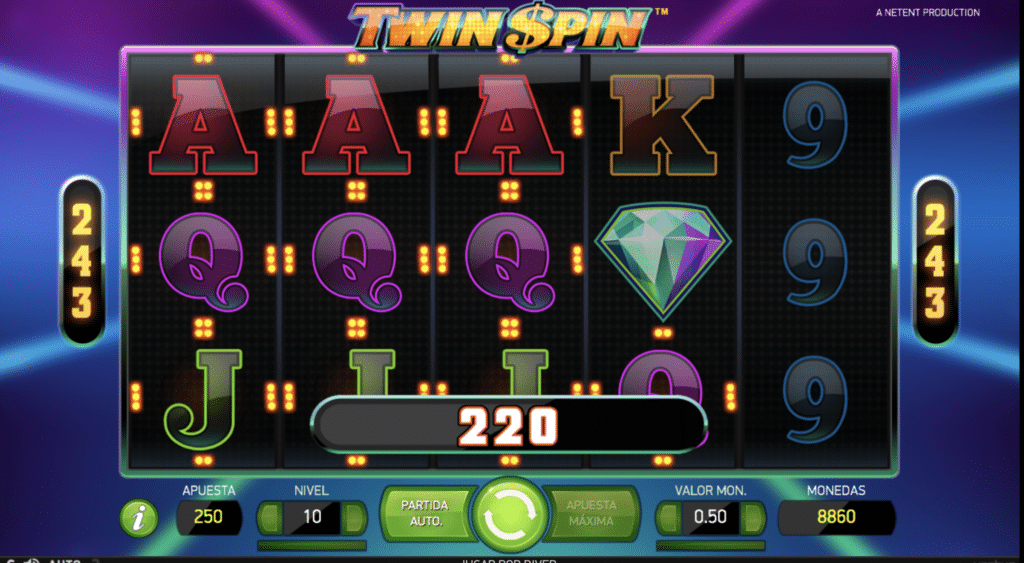 Twin Spin gemelos