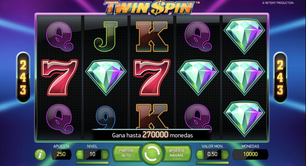 Twin Spin tragaperras