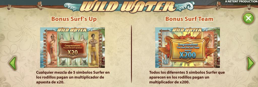 Wild Water Bonus