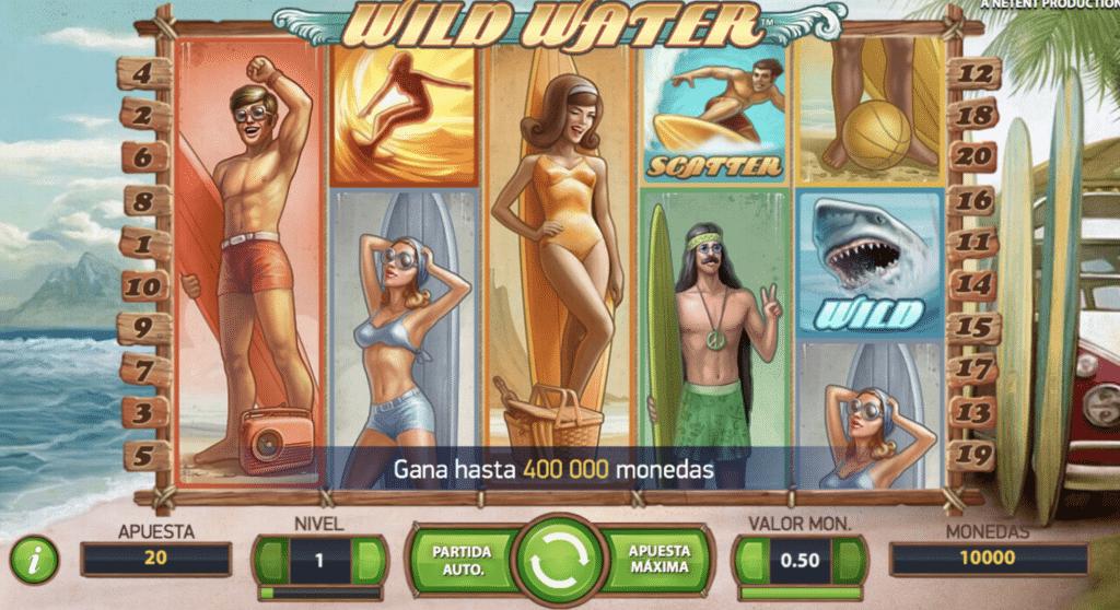 Wild Water jugando