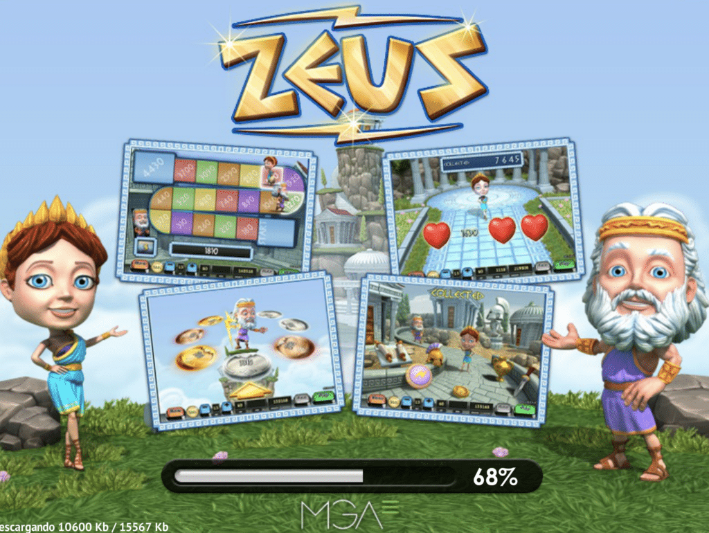 Zeus bingo tragaperras