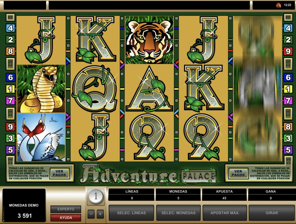Adventure Palace jugando