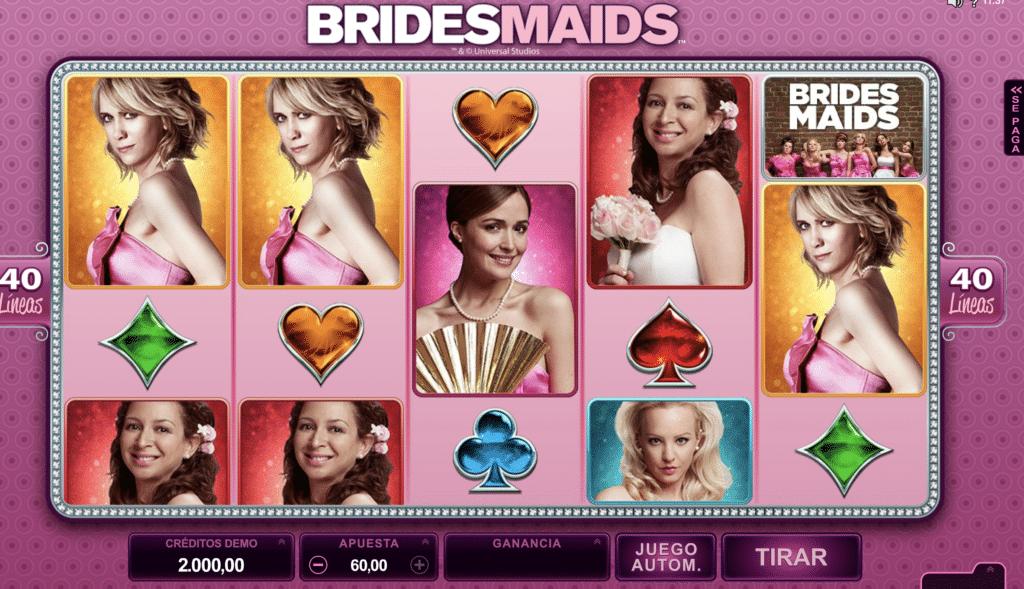 Bridesmaids tragaperras