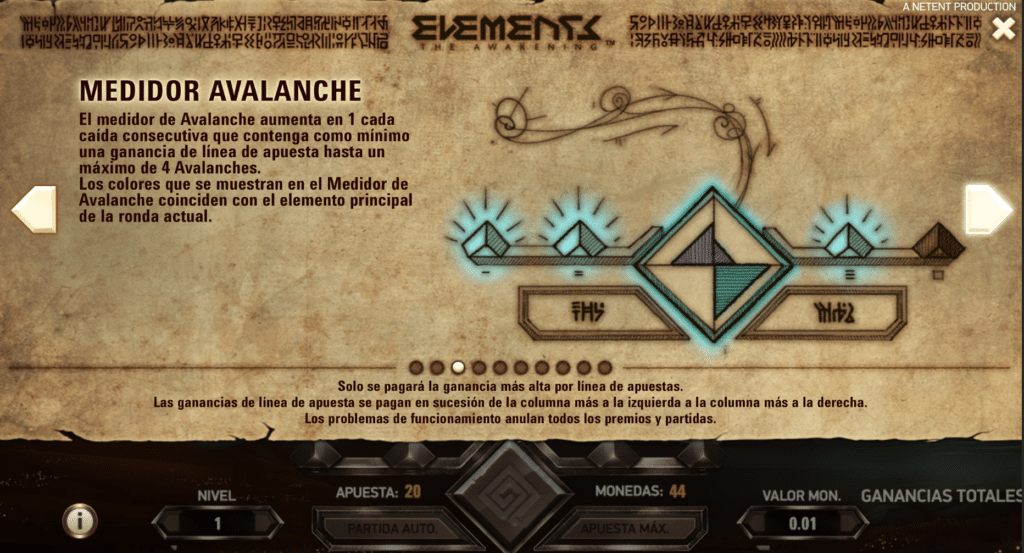 Elements avalanche