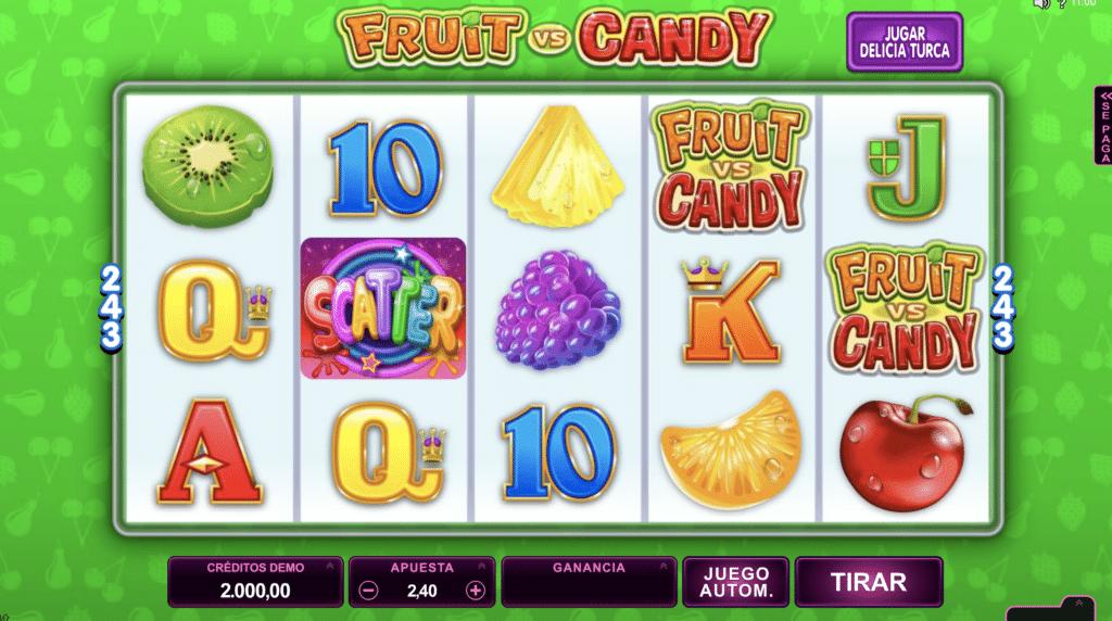 Fruit & Candy frutas