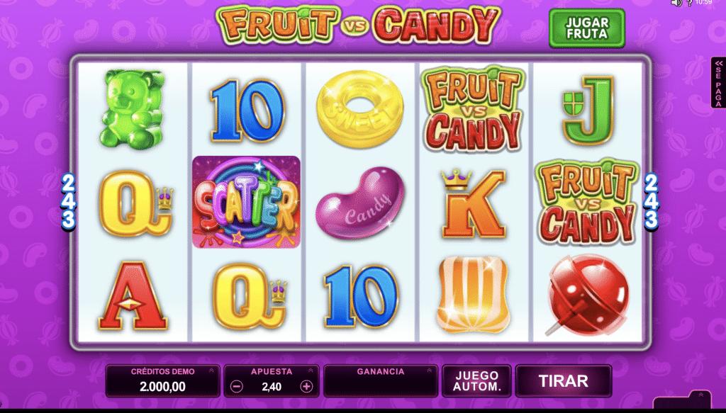 Fruit & Candy tragaperras