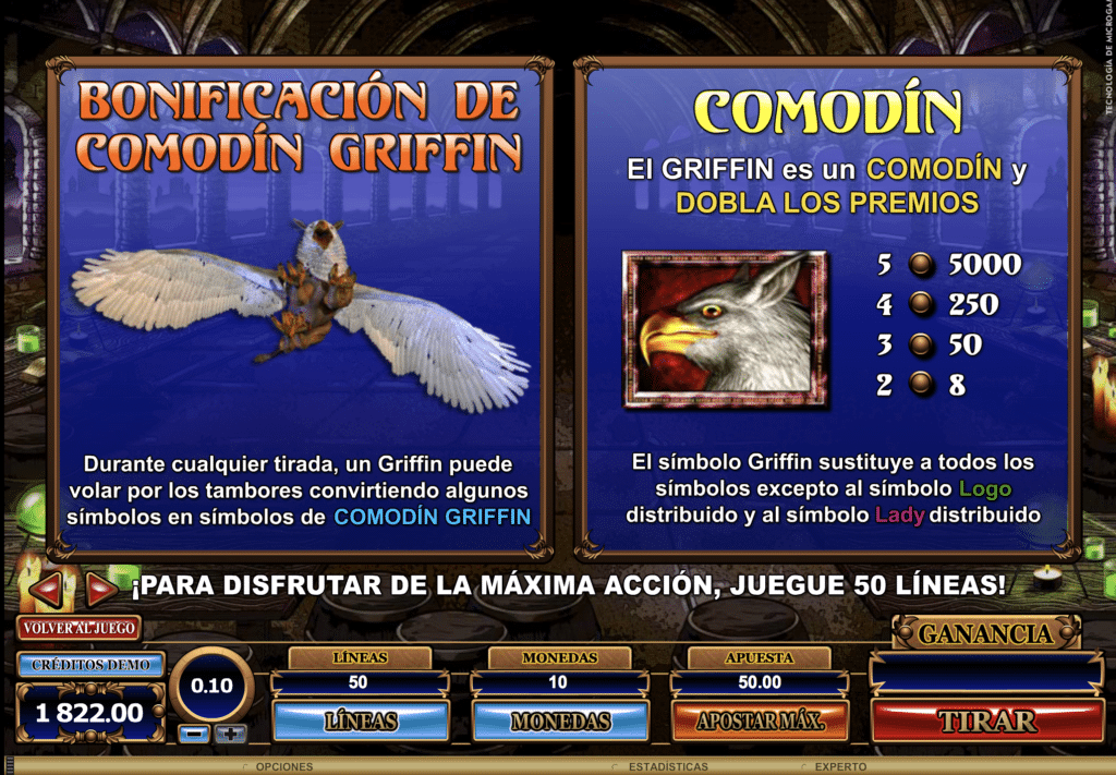 Great Griffin boniificación
