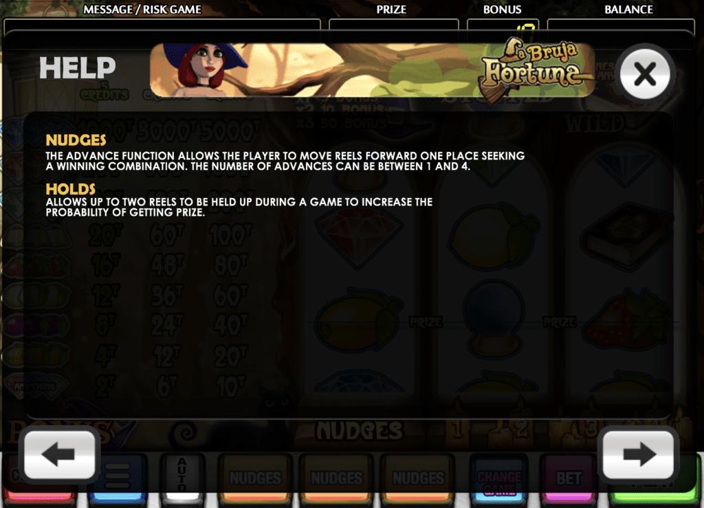 La Bruja Fortuna Bonus