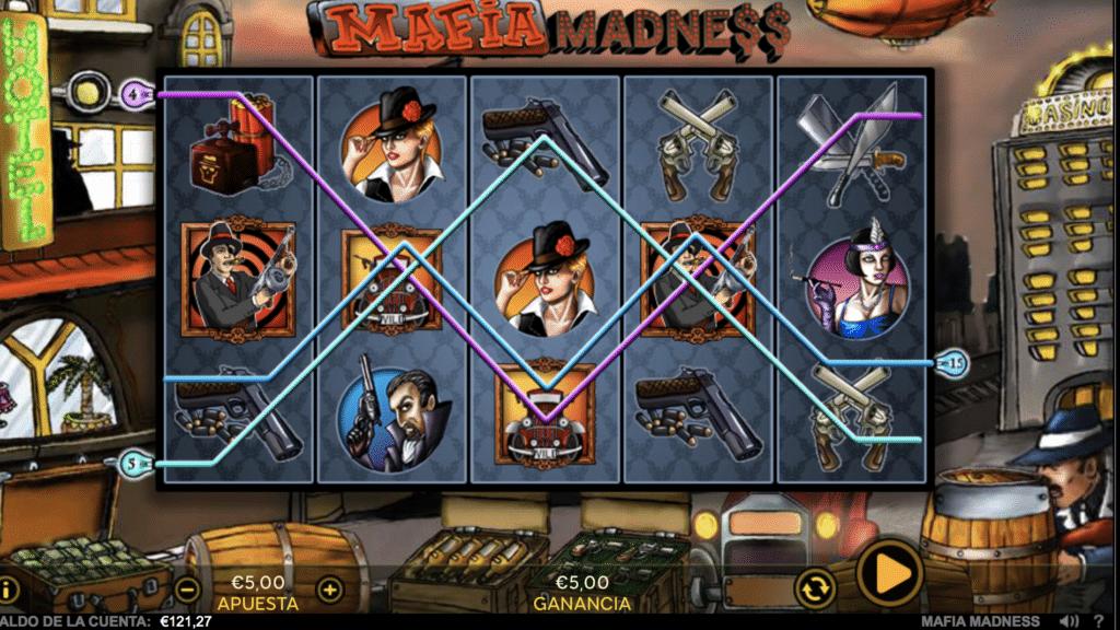 Mafia Madness líneas de pago