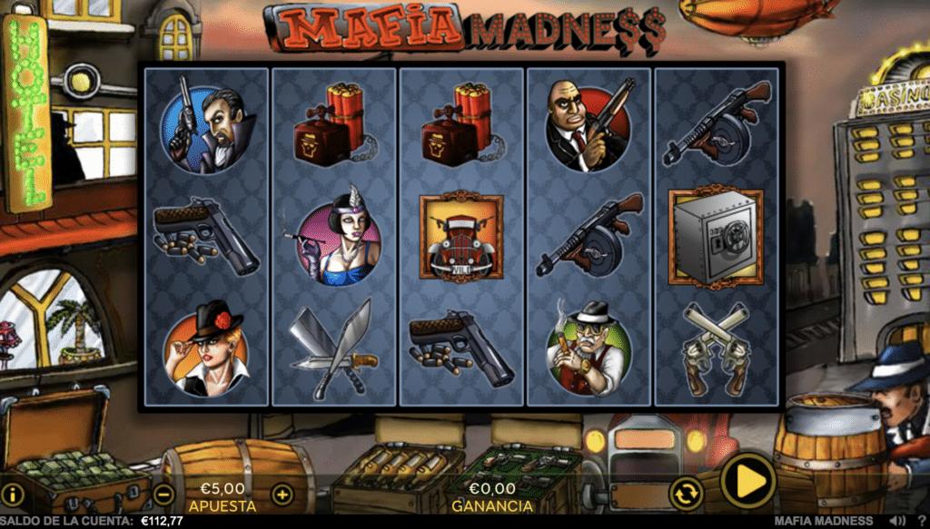 Mafia Madness tragaperras