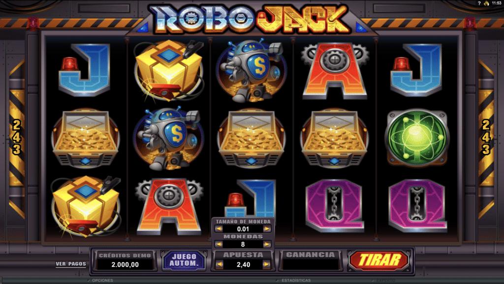 RoboJack tragaperras