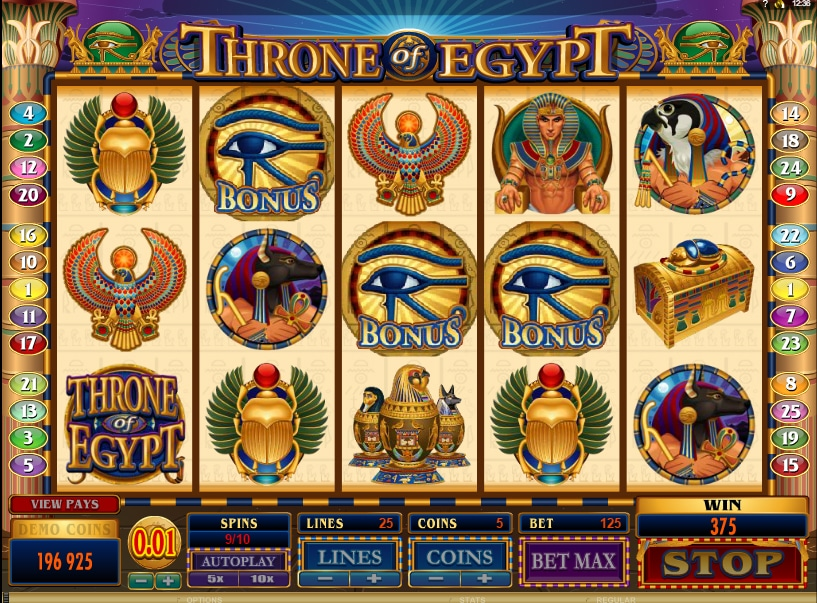 Throne of Egypt jugando